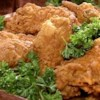 "A Southern Fried Chicken Recipe - ""A cut-up chicken dredged in buttermilk and seasoned flour, then deep-fried to perfection."""