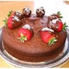 Black Russian Cake I Recipe - This is an extremely moist and delicious cake.  The coffee liqueur gives it an exceptionally rich and unique flavor.  It is wonderfully complemented when served with coffee drinks as an after-dinner treat.