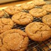 Triple the Ginger Cookies Recipe - Fresh ginger, candied ginger, and ground ginger join forces in these spicy ginger cookies.