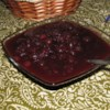 Hazel's Cranberry Sauce Recipe - This is a deep red, spicy holiday sauce that goes with everything from turkey to toast. Some people eat it with a spoon when you're not looking! This recipe makes enough to last until spring.