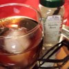 Coffee Liqueur I Recipe - Rich and yummy!  This liqueur needs to be made 1 month ahead of giving or drinking!  Makes great gifts when poured into separate smaller bottles and tied with ribbon!