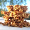 Banana Oat Bars Recipe - These bars are lower in fat than most bar cookies.