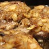 Applesauce Pork Chops Recipe - Pork chops are baked with a savory applesauce glaze for a quick and easy weeknight main dish.