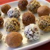 Easy Decadent Truffles Recipe and Video - Insanely easy, but oh so rich!  Recipe makes a large amount but you can vary flavorings and coatings to make several different varieties.