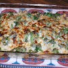 Silver's Savory Chicken and Broccoli Casserole Recipe - Noodles are topped with chicken and broccoli, then baked in a casserole with a white sauce and 2 kinds of cheese. This is an easy to make recipe that is great for potlucks, church gatherings, holidays, or outside gatherings.