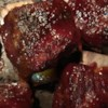 Broiled Short Ribs Recipe - Short ribs boiled, then broiled and basted with a molasses, mustard and ketchup sauce. Boiling the ribs first makes them so tender and gets rid of a lot of the fat.