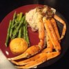 Crab Legs with Garlic Butter Sauce Recipe - I ended up getting some snow crab legs on sale at the market. I wanted something a little different from plain steamed, boiled, or grilled crab legs, so I ended up throwing a few things together to make this awesome crab leg dish. Enjoy! This would be great with shrimp as well.