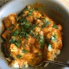 Curry Stand Chicken Tikka Masala Sauce Recipe and Video - Chunks of chicken simmer in a spicy tomato and cream sauce for the bright orange chicken tikka masala you crave.