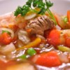 Venison Vegetable Soup Recipe - This delightful stew is full of delicious vegetables simmered with venison and a dash of hot pepper sauce.