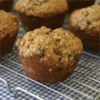 Seminary Muffins Recipe - Bananas and applesauce make these muffins very moist and tender.