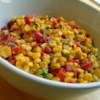Corn Salad with Creamy Italian Dressing  Recipe and Video - Chef John's recipe for corn salad with a creamy Italian dressing is the perfect complement to any number of grilled meats.