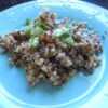Quinoa with Asian Flavors Recipe - Here's an Asian twist to making quinoa. What a little ginger, garlic, and soy sauce can do to update your favorite side dish!