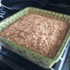 Aunt Anne's Coffee Cake Recipe - Just in time for Sunday morning! A simple coffee cake is whipped together by first making a crumb mixture, and then stirring in milk and egg. It gets covered with a streusel topping and baked.