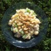 Chicken Cashew Salad Recipe - This is a great summer pasta salad for barbeques and more. It has a slightly sweet, creamy dressing, and is loaded with chicken, cashews, and crunchy veggies.