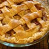 Chef John's Caramel Apple Pie Recipe and Video - Classic caramel apple pie with a twist! The caramel filling sauce is poured over the lattice-top of the pie, giving it a more intense flavor.