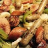 Italian Sausage, Peppers, and Onions Recipe and Video - My family has been using this very simple and delicious recipe for sausage, peppers, and onions for years and years now. For an extra kick, try using half sweet sausage and half hot sausage!