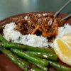 Spicy Orange Beef Recipe - Slivered orange zest, orange marmalade, and red pepper flakes add strong, hot citrus flavor to this stir-fry of round-steak strips. Steamed rice is a perfect accompaniment for this dish.