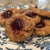 Uncle Mac's Peanut Butter and Jelly Cookies Recipe - Soft, tasty peanut butter cookies with a touch of jelly on top.  No flour needed.