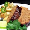 Smokey Chipotle Meatloaf Recipe - Spicy, sweet and smokey flavor, this meatloaf is easily adaptable to your personal taste. It makes THE BEST sandwiches from leftovers!