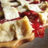 Basic Flaky Pie Crust Recipe and Video - Flaky, flaky, flaky. Cold vegetable shortening and ice water do the trick to make this classic crust true to its name.