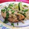 Slow Cooker Lime Chicken with Rice Recipe - Quick to prepare, delicious flavors, this is a family pleaser!