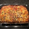 Sweet Potato Breakfast Casserole Recipe - Eggs, cheese, and vegetarian sausage are baked atop a layer of buttery shredded sweet potatoes for a filling breakfast casserole.