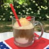 Simple Summer Java Float Recipe - Pour coffee concentrate over vanilla ice cream for a delicious summertime float--simple but sophisticated for coffee fans.