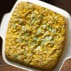 Cheddar Corn Casserole Recipe - This versatile Cheddar and corn casserole pairs with turkey and ham alike--and you can customize with different stir-ins and toppings.