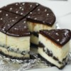 Chocolate Cookie Cheesecake Recipe and Video - I don't know what to say about this recipe other than it is decadent and addictive.