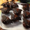 Bat Cupcakes Recipe - I make dozens of these each Halloween. They are so cute!