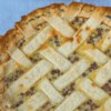 Sour Cream Gooseberry Pie Recipe - A traditional sour cream pie plus gooseberries for a tart sweet treat.  Much better than raisin any day!