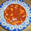 Minute Tomato Soup with Tortellini Recipe - Some dried herbs and half a package of frozen tortellini transform the simplest lunchtime fare into something, well, almost sophisticated.  Great for a last-minute dinner party.