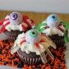 Easy Chocolate Cupcakes Recipe - These chocolate cupcakes are easy to make and very tasty.  You can also bake them as a cake.