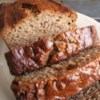 Nanna's Banana Bread Recipe - My Nanna Towgood has been making this loaf bread for over 40 years, and its a family favorite--moist, flavorful, and just the right amount of sweetness. You may substitute chocolate chips for the walnuts.