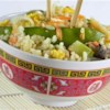 Vegetable Lovers' Fried Rice Recipe - Plenty of crisp vegetables are served with fried rice in this tasty, simple dish.