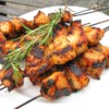 Rosemary Ranch Chicken Kabobs Recipe and Video - This rosemary ranch chicken recipe is so delicious, tender, and juicy the chicken will melt in your mouth.