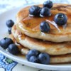 Todd's Famous Blueberry Pancakes Recipe and Video - Simple but delicious blueberry pancakes. Fresh or frozen blueberries are equally good.