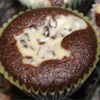 Black Bottom Cupcakes I Recipe - Chocolate cream cheese cupcakes, rich and gooey. Serve these little gems with a tall glass of ice cold milk.