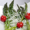 Asparagus Parmesan Recipe - Quick and easy asparagus that is sauteed, and topped off with Parmesan cheese.