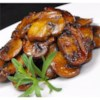Mushrooms with a Soy Sauce Glaze Recipe - Serve this tasty side with pork chops, steak, or salmon!  Serve over the meat of your choice.