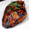 Asian Grilled Chicken Recipe and Video - The flavorful marinade for these grilled chicken thighs is a little sweet, a little salty, and a little tangy, with a hint of spice from Asian chili sauce, curry, and garlic.