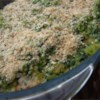 Green Rice I Recipe - This is a rich and creamy casserole of rice and spinach baked with an egg, evaporated milk and Cheddar cheese.