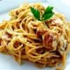 Chef John's Spaghetti alla Carbonara Recipe and Video - Spaghetti alla carbonara in its authentic form: peppery, creamy without using cream, cheesy, and delicious.