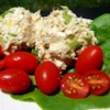 Home On The Range Tuna Salad Recipe - We like surprises in recipes and this one has one  - tuna and cottage cheese. The end result is a creamy, creamy tuna salad that makes a great luncheon dish.