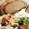 Garlic-Herb Roast Pork Recipe - This recipe was developed by Chef Bruce Aidells, author of The Complete Meat Cookbook.