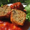 The Best Meatballs Recipe and Video - Meatballs made with ground beef, veal and pork, with garlic and Romano cheese. Finish cooking in your favorite marinara sauce.