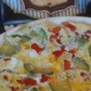 Zucchini Oven Frittata Recipe - A delicious, easy frittata recipe full of good vegetables and topped with cheeses.