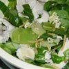 Asian Chicken Noodle Salad Recipe - This easy to prepare noodle salad has plenty of seeds, nuts, greens, chicken, and vegetables.