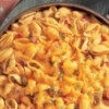 Salsa Mac and Beef Recipe - This one-pot supper sports big flavors. Sauteed ground beef is stirred into shell pasta with a cheesy sauce and Pace(R) Chunky Salsa. Garnish with chopped cilantro, if desired.