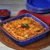 Fiesta Chicken and Rice Bake Recipe - Pace(R) Fiesta Chicken and Rice Bake features easily found ingredients and bakes with no attention from the cook. Round out the meal with packaged lettuce mix and your family's favorite sorbet.
